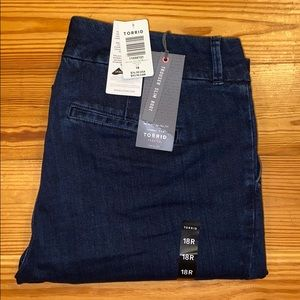 Torrid Premium Trouser Slim Boot Jean, 18R, *NWT*